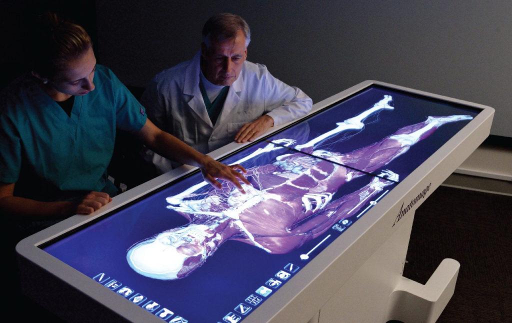 El futuro está aquí: anatomía en 3D en universidades - Diario Salud